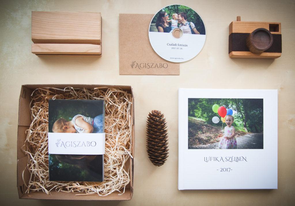 családi fotózás csomagolás