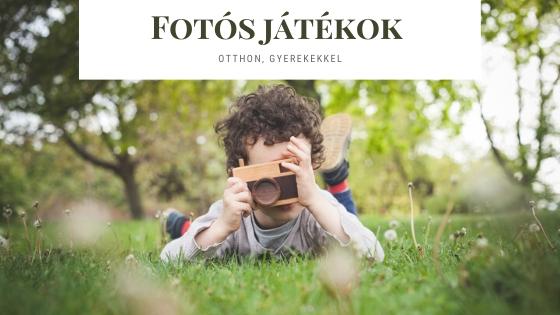 Fotós játékok otthonra,gyerekeknek